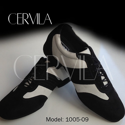 1005-09 Piazzolla suede white