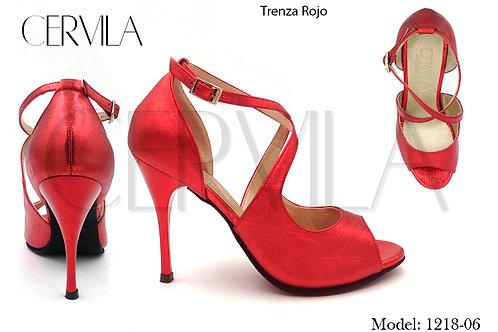 1218-06 Trenza Rojo