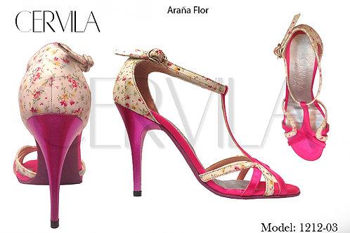 1212-03 Araña Flor