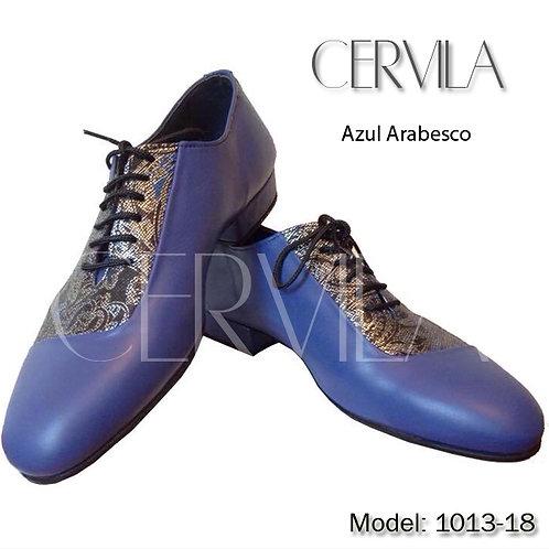1013-18 Azul Arabezco SIZE 38