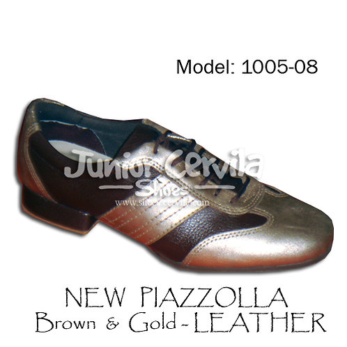 1005-08 New Piazzolla Gold Brown