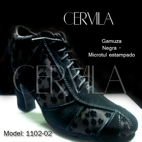 1102-02 Donna Microtul size 34 heel 2 in