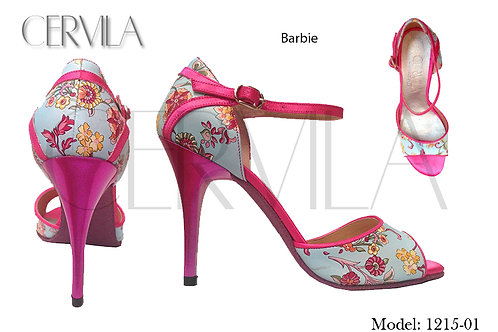 1215-01 Barbie heel:3.5 inch SIZE 34