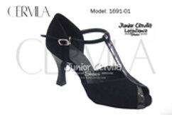 1691-01 T Negro Antigo size 35 heel 2.75 in