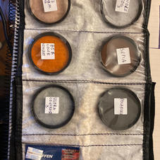 14 Filtros TIFFEN + 20 adaptadores de tamaño