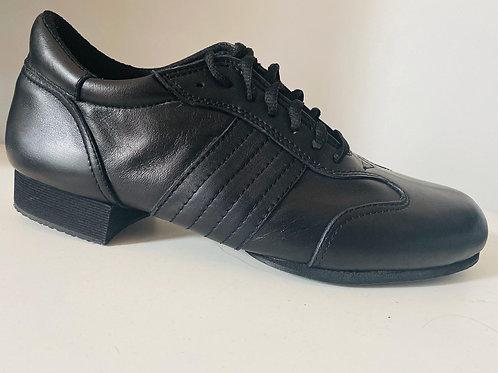 1025-01 Trad Black Leather