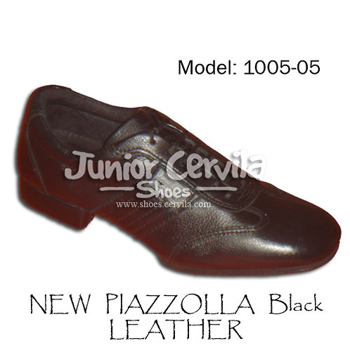 1005-05 New Piazzolla Black Leather