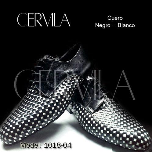 1018-04 Trenzado Black White
