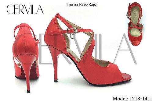 1218-14 Trenza Rojo Raso SIZE 36