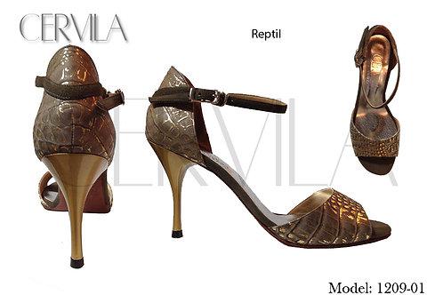 1209-01 Reptil heel:3.5 in SIZE 35