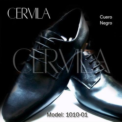 1010-01 Cuero Negro Size 40