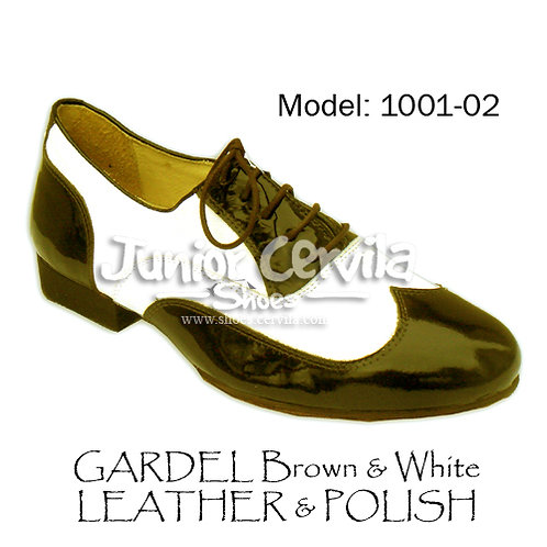 1001-02 Gardel Dark brown/white