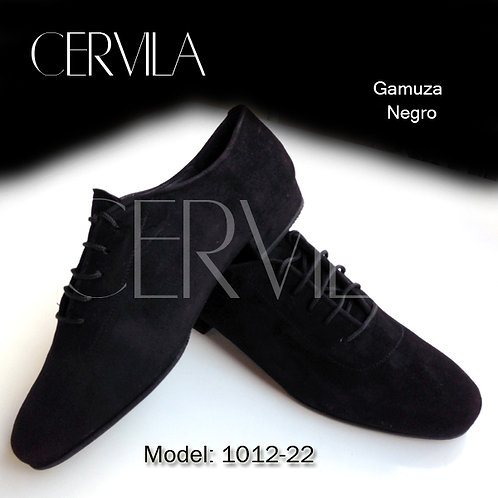 1012-22 Dash Black Suede