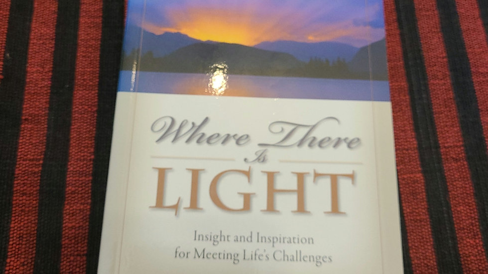Where There is Light by Paramahansa Yogananda