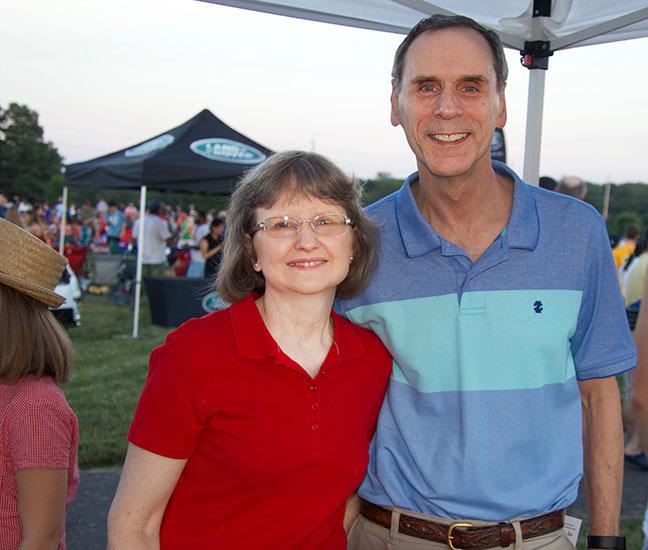 Rocky Hill Mayor Bob Uhrik with wife Eileen