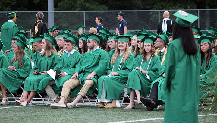 MHS front row