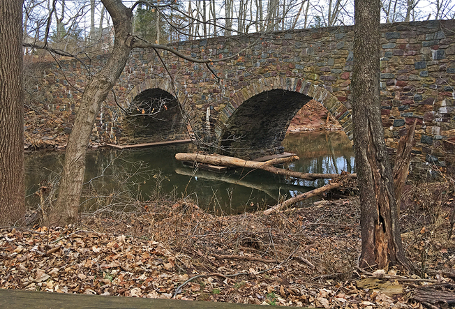 Freightliner Strikes Historic Opossum Road Bridge