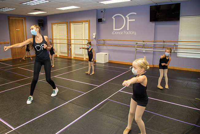 Dancing in the Face of COVID-19 — Help Keep the Dance Factory in Montgomery