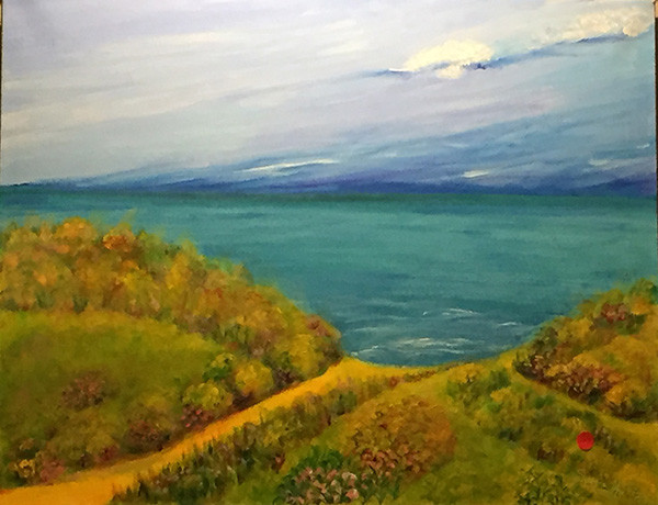 Local Engineer-turned-artist to Exhibit Her Work at Rocky Hill Library