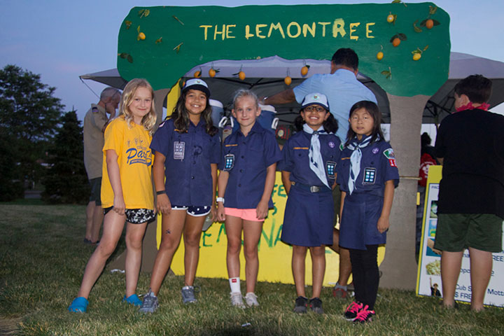 Scouts Lemonade Stand