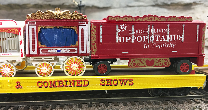 Circus Train Hippopotamus