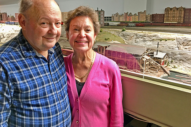 Carlton and Anne Pate of Rocky Hill