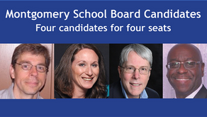 Four Candidates for Four Slots on Montgomery School Board