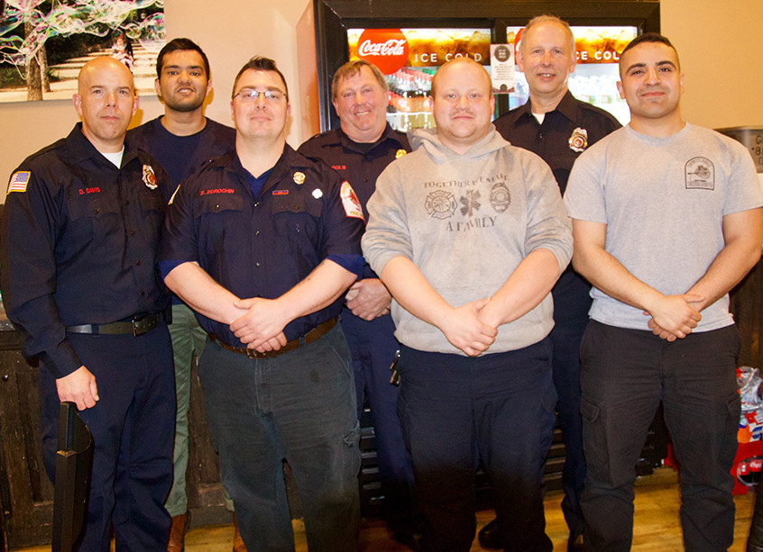 Firefighter Group Shot