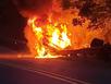 3 Teens Escape Fiery Car Crash on Dutchtown Zion Road