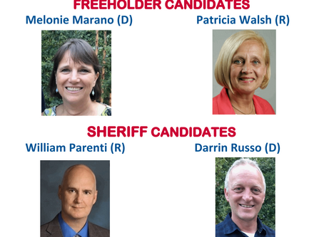 Meet Your Candidates for Somerset County Freeholder & Sheriff at the Only Forum Scheduled