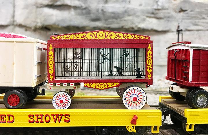 Circus Train Monkeys