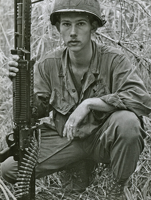 Soldier on Front Line