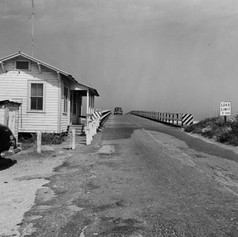 Car on Matanzas Inlet Bridge