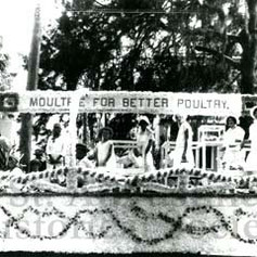 Moultrie Poultry float