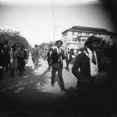 Annual Emancipation Day Parade.  (c. 1922)