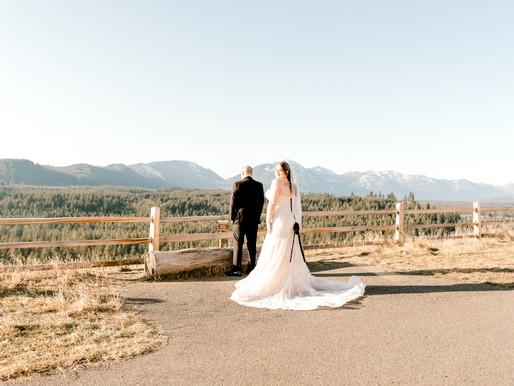 Winter Mountain Wedding/Suncadia Resort/ Andrea & Kyle/ Seattle, Wa/ Shantel Wall Photography