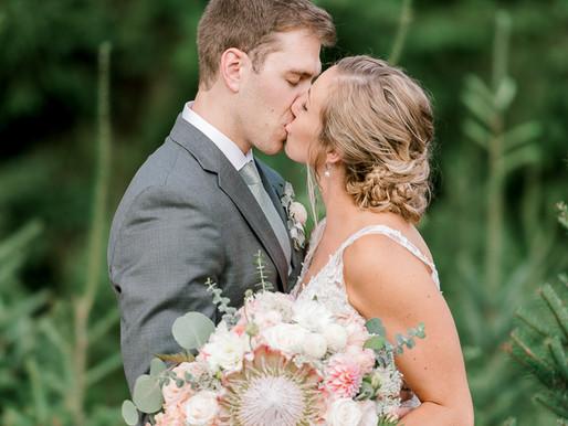 Trinity Tree Farm Wedding/Kelly & Collin/Issaquah, Wa/Shantel Wall Photography