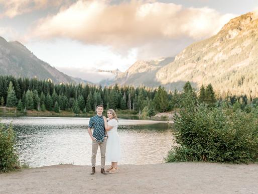 Gold Creek Pond Engagement | Madison and Joseph