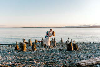Tranquility Rock Engagment Photo