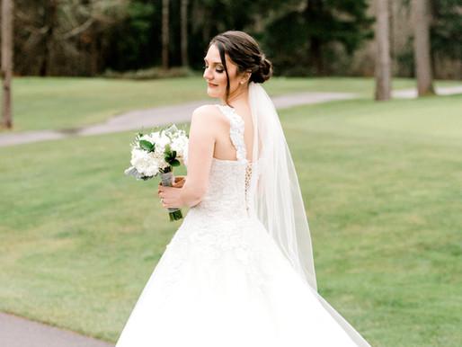Winter Wedding/ Canterwood Country Club/ Bri & Daniel/ Gig Harbor, Wa/ Shantel Wall Photography
