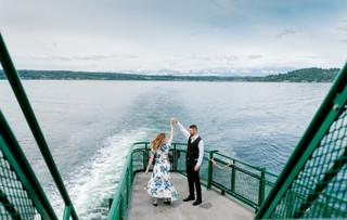 Ferry Enagagement Photos