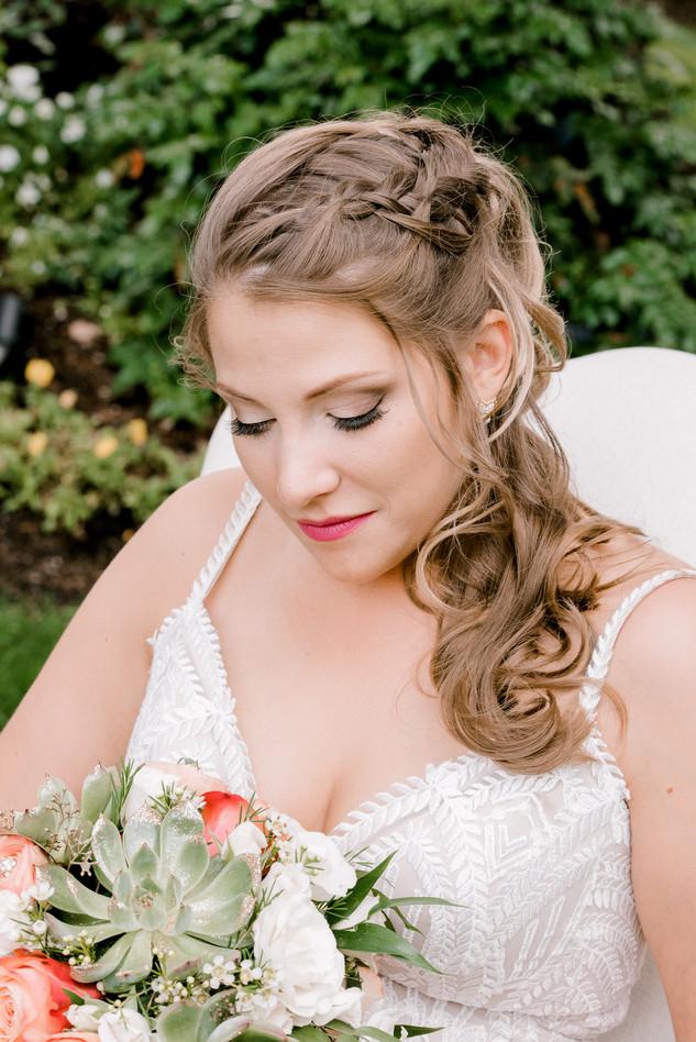 Bride portriats
