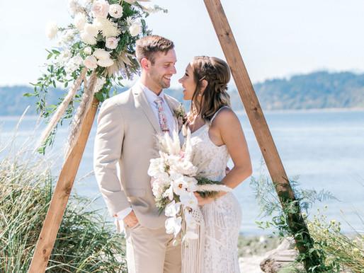 Mukilteo Lighthouse/ Heather and Kyle's Wedding/ Shantel Wall Photography