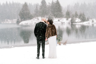 Snow Elopement