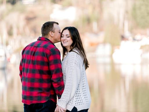 Gig Harbor  and Seattle Wedding Photographer Shantel Wall / Kristen & Justin/ Engagement Photos
