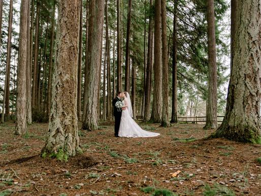 PNW Wedding/ Kitsap Memorial State Park/ Breidablik Chapel/ Poulsbo, Wa / Shantel Wall Photography