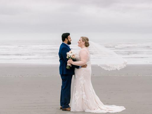 Kalaloch Lodge at Olympic National Park | Forks Beach Wedding | Kelly and Krishna