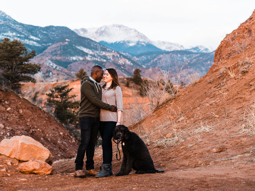 Engagement Session at Red Rock Canyon Open Spaces/ Colorado Springs/ Shantel Wall Photography