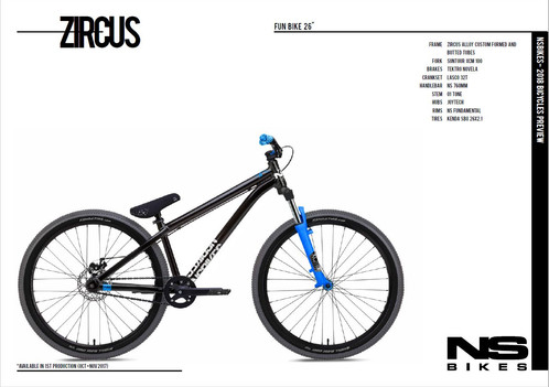 2018 Zircus Available For Pre Order Bikes By Ascension Ns