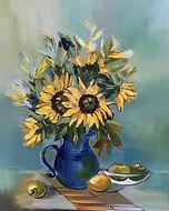 sunflowers I,30x36,acrylic (1).jpg
